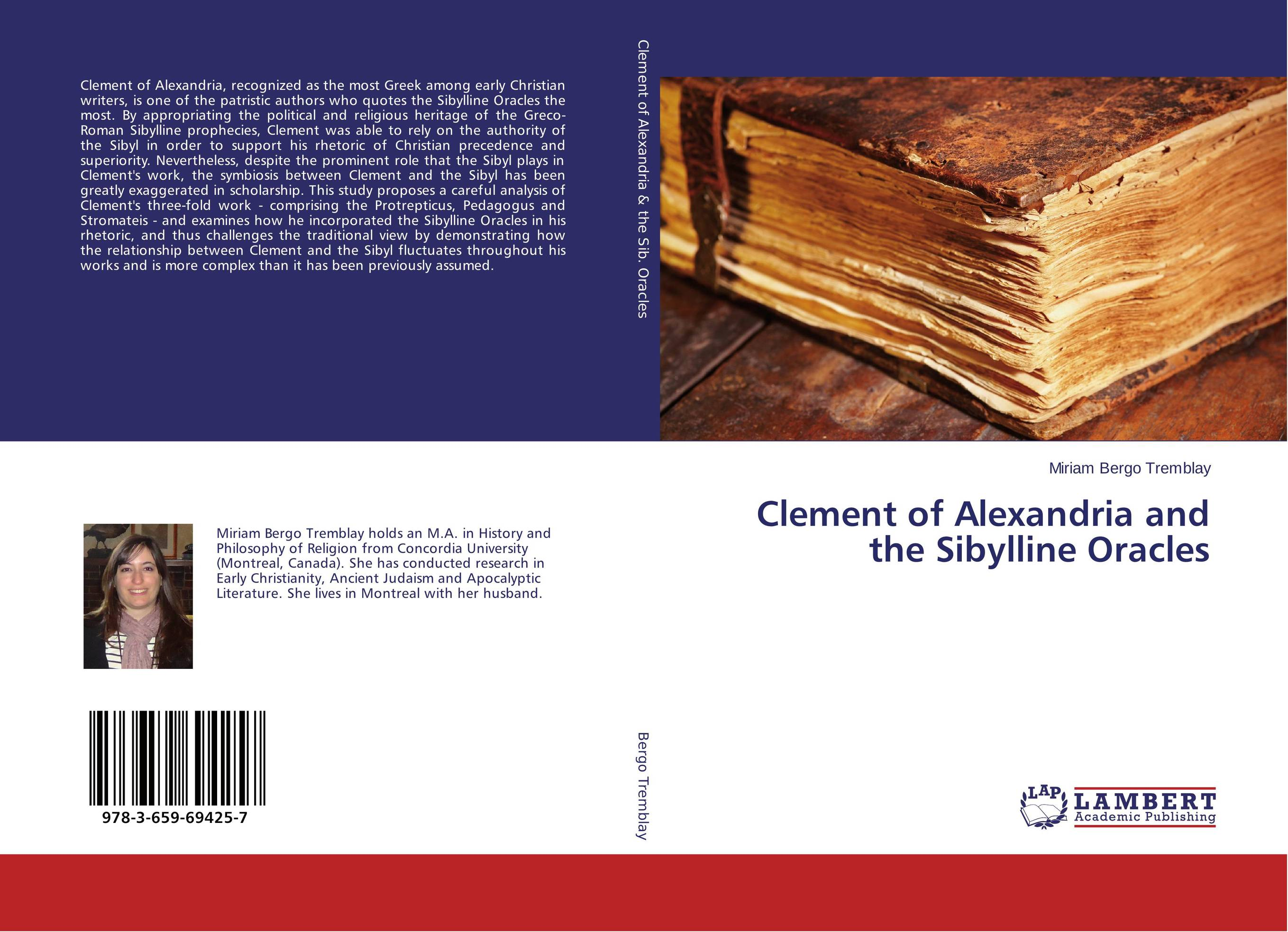 Clement of Alexandria and the Sibylline Oracles zacharys anger gundu and clement olumuyiwa bakinde papers in nigerian archaeology