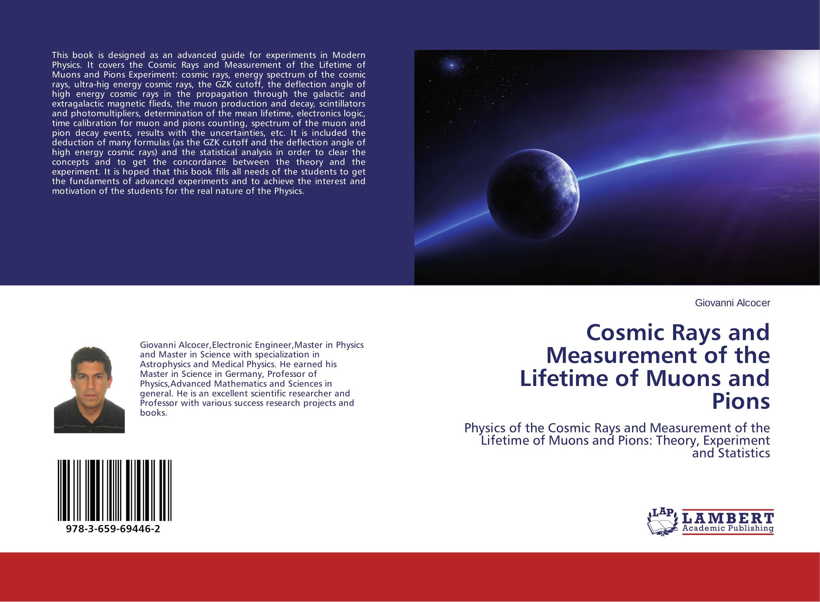 Cosmic Rays and Measurement of the Lifetime of Muons and Pions muon detection efficiencies