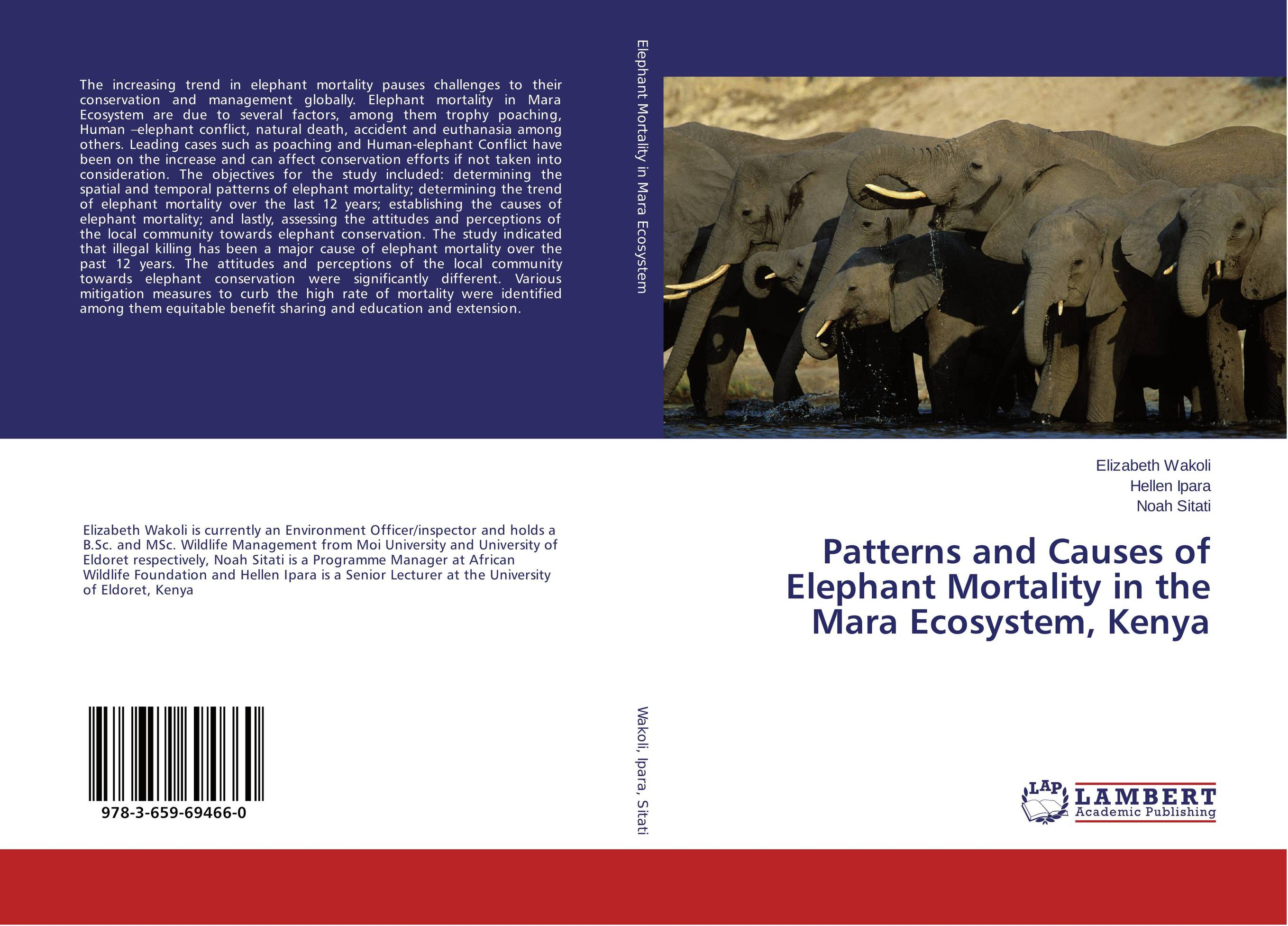 Patterns and Causes of Elephant Mortality in the Mara Ecosystem, Kenya max mara ma994dwthn29