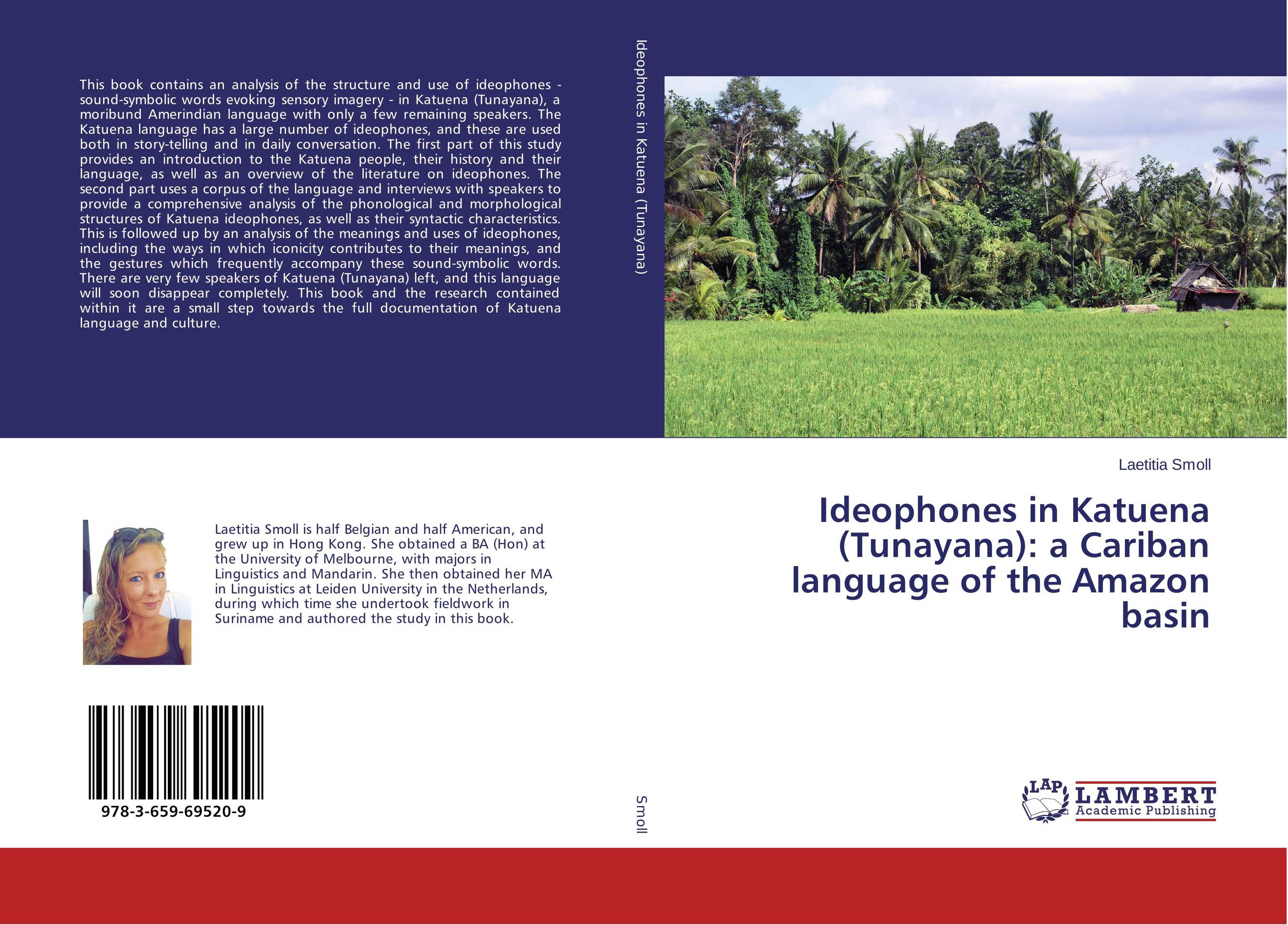 Ideophones in Katuena (Tunayana): a Cariban language of the Amazon basin pramod kumar verma yield gap and constraints analysis in groundnut production