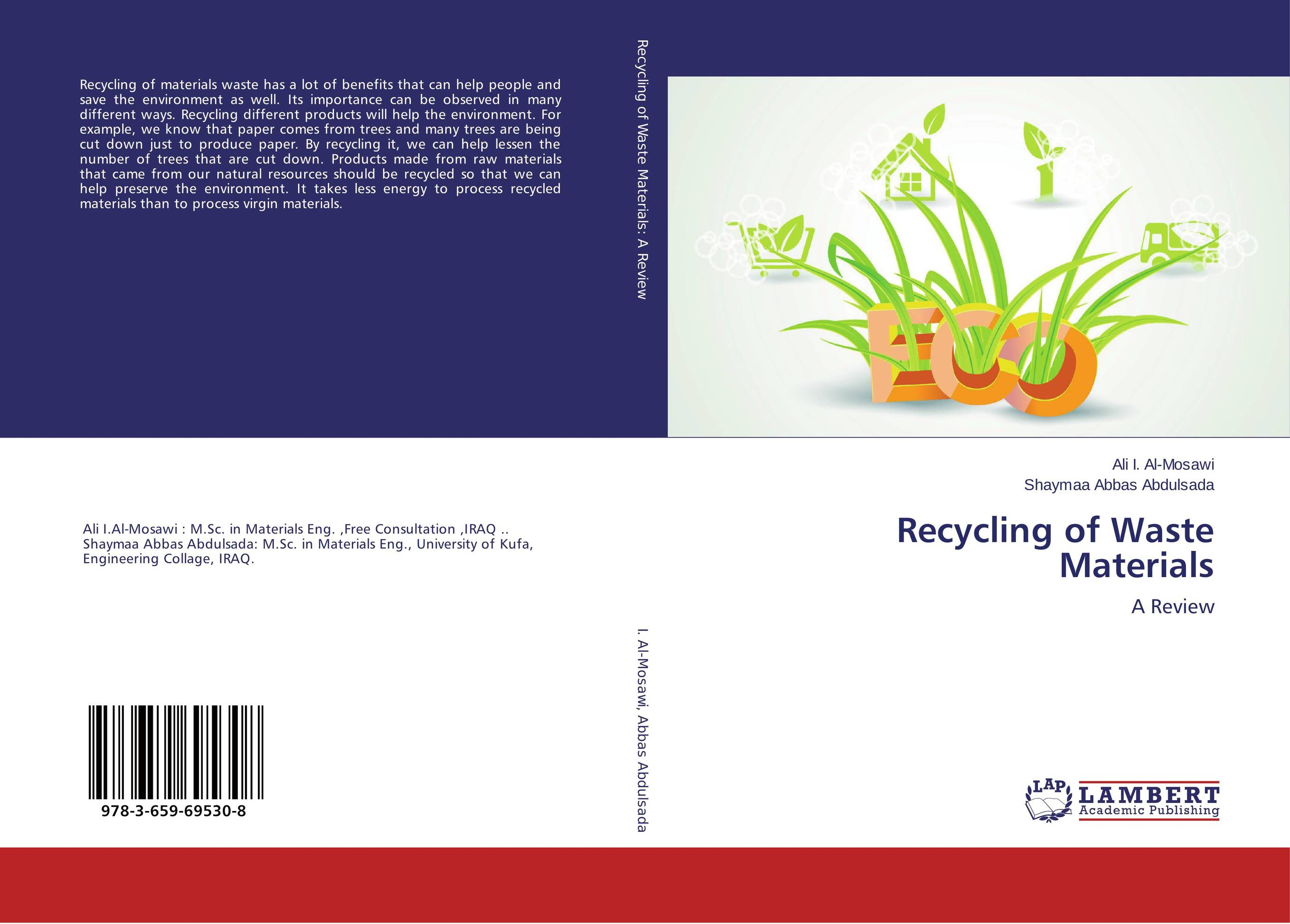 Recycling of Waste Materials recycling of waste materials