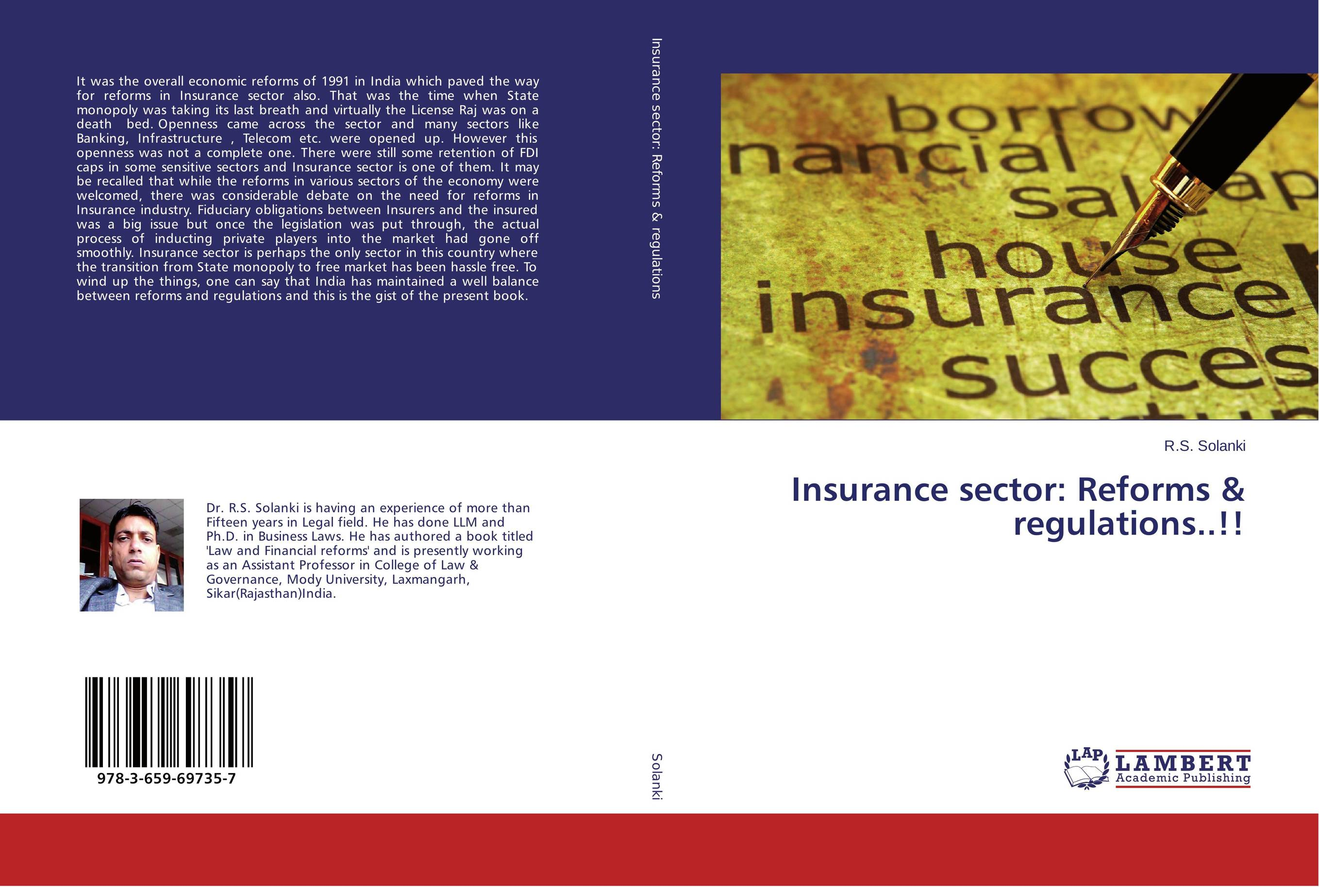Insurance sector: Reforms & regulations..!! economic reforms and growth of insurance sector in india