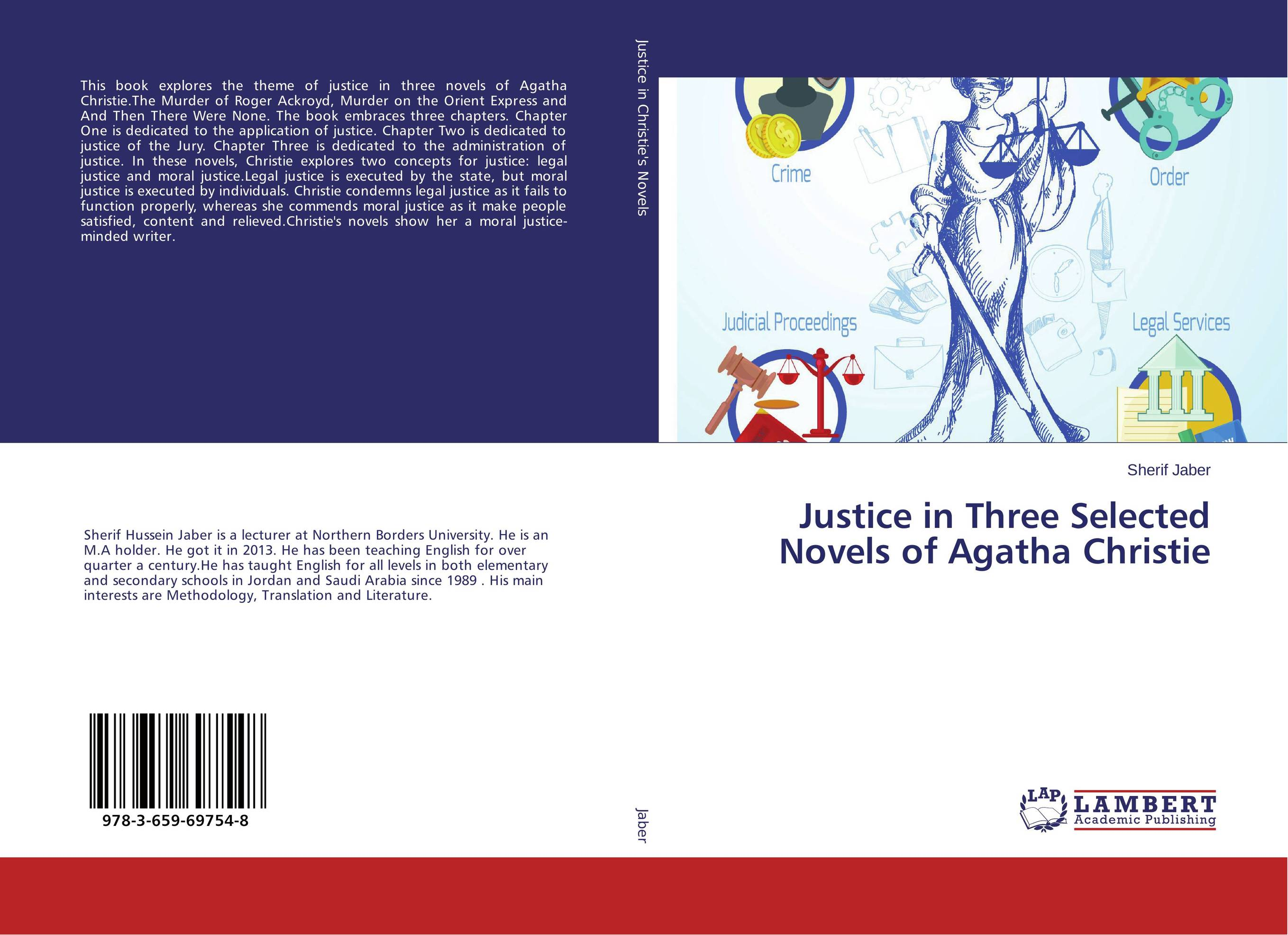 Justice in Three Selected Novels of Agatha Christie stowe three novels