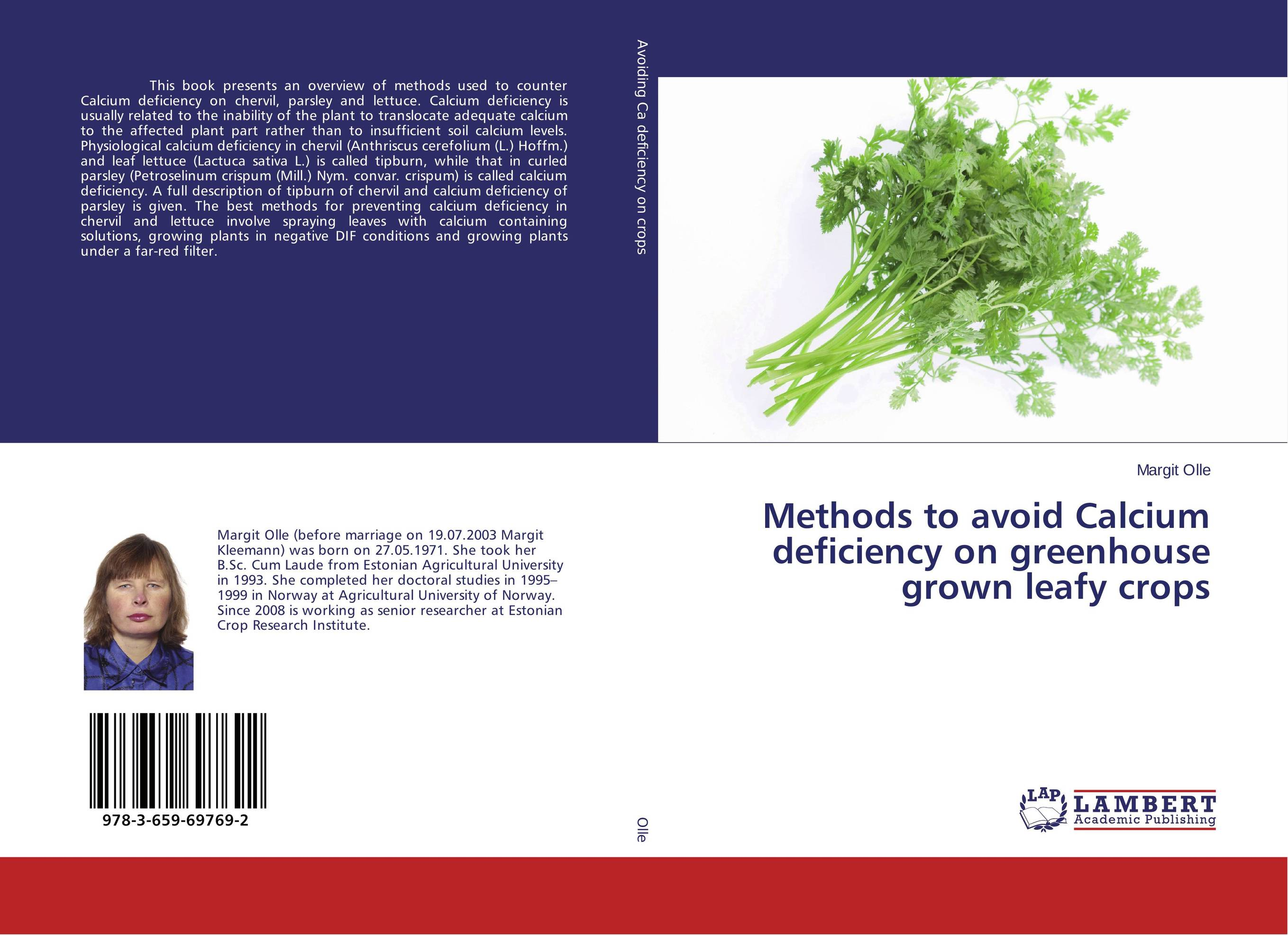 Methods to avoid Calcium deficiency on greenhouse grown leafy crops vitamin d effect on calcium homeostasis in preeclampsia