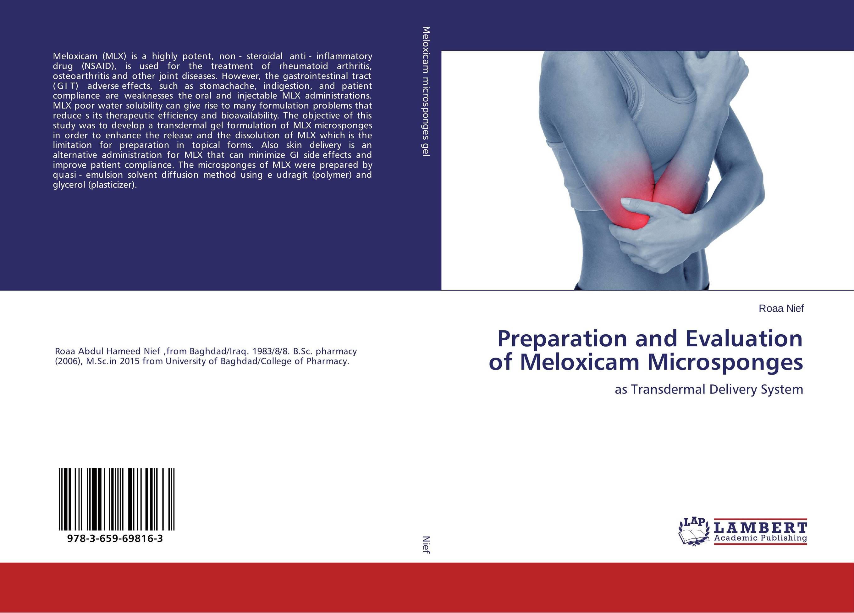 Preparation and Evaluation of Meloxicam Microsponges case history of therapeutic patient manual