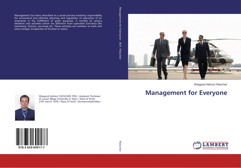 Management for Everyone management for everyone