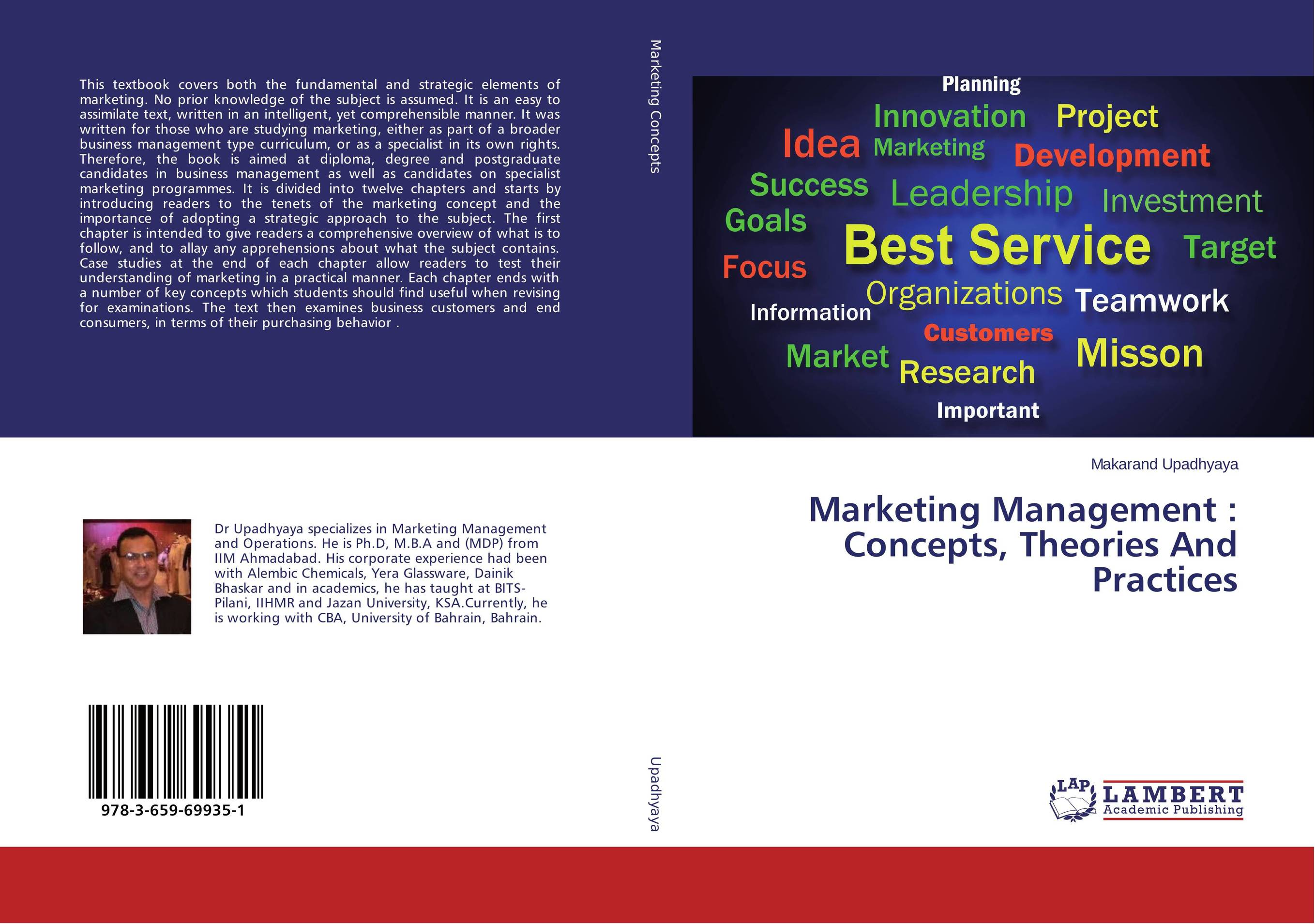 Marketing Management : Concepts, Theories And Practices agricultural marketing management