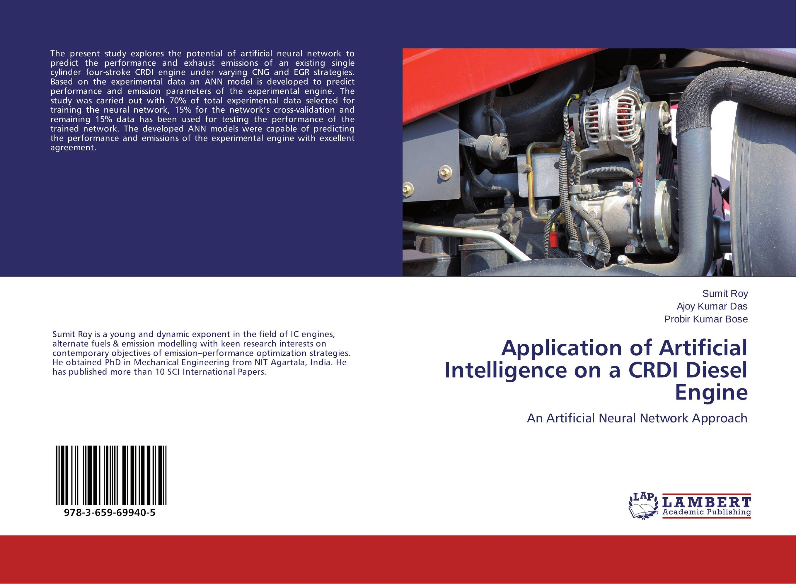 Application of Artificial Intelligence on a CRDI Diesel Engine predicting performance