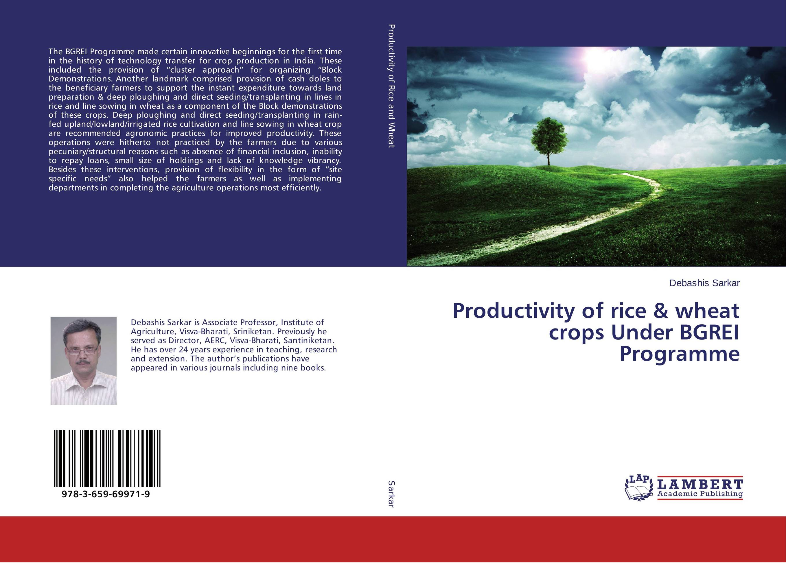 Productivity of rice & wheat crops Under BGREI Programme natural enemy fauna in rice wheat system of india