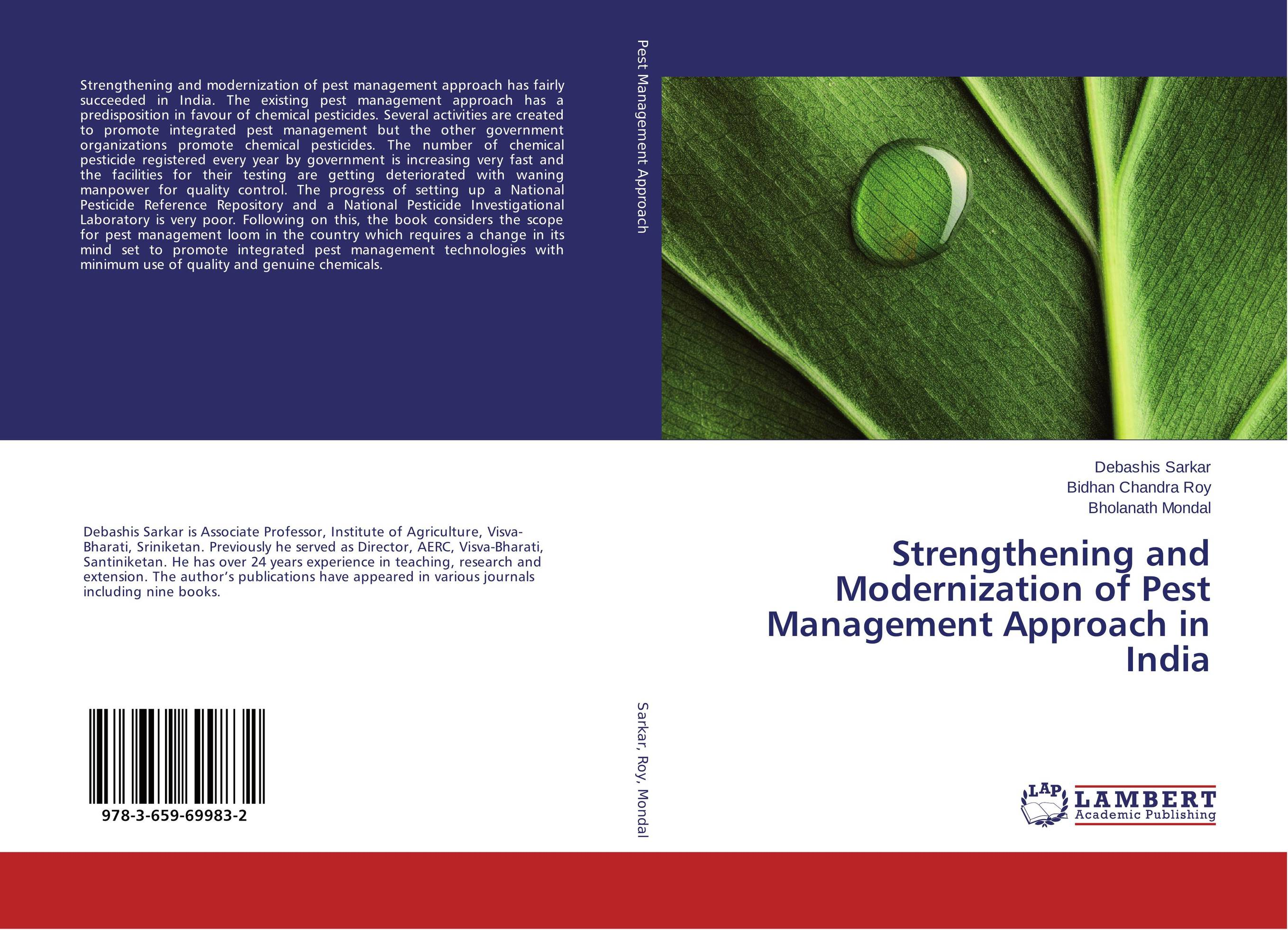 Strengthening and Modernization of Pest Management Approach in India narendra sharma satyakumari sharma and n s bhadauria integrated pest management in brinjal