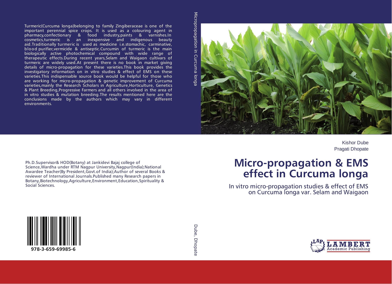 Micro-propagation & EMS effect in Curcuma longa effect of curcuma longa on ovary of endosulfan exposed mice