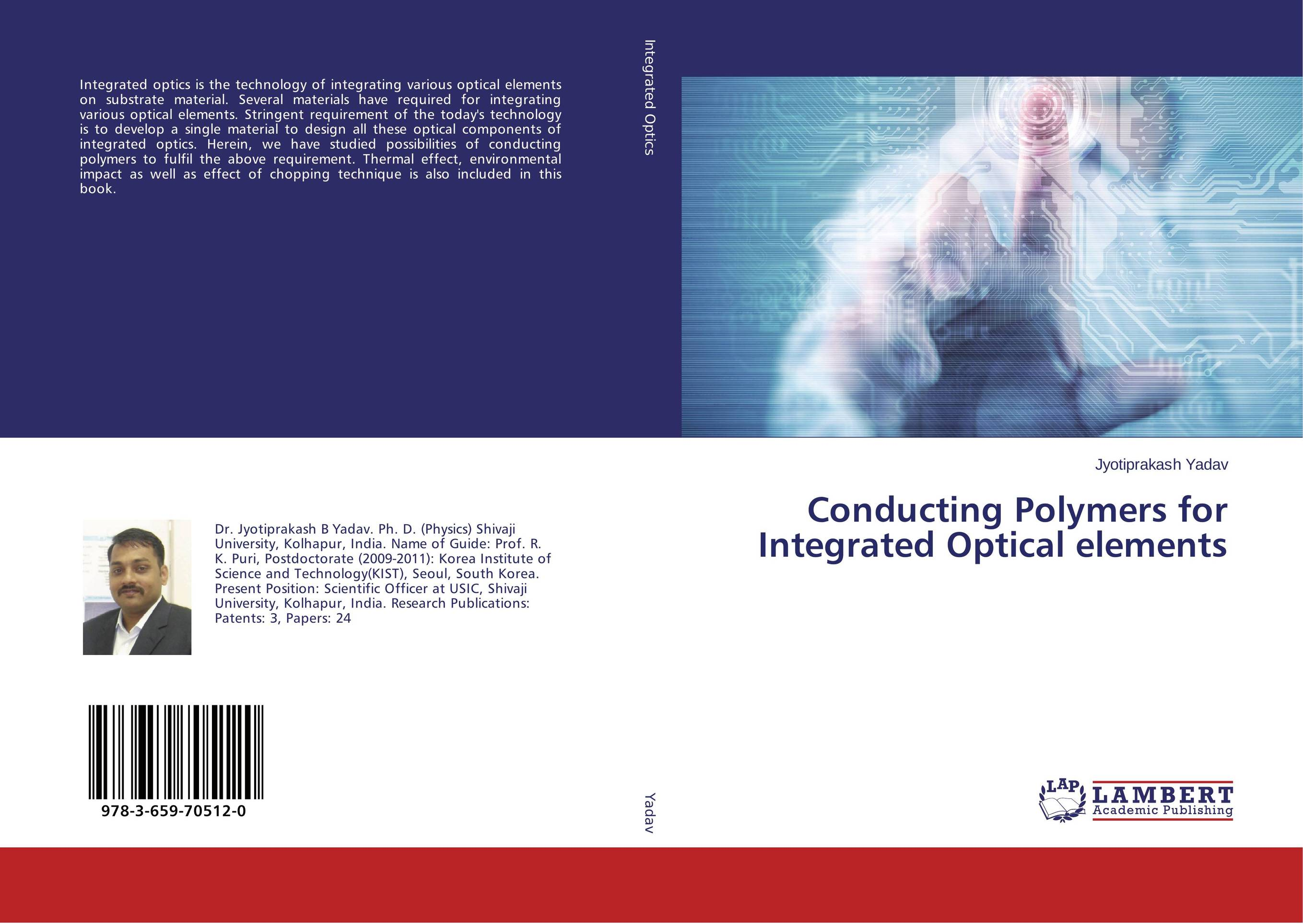 Conducting Polymers for Integrated Optical elements