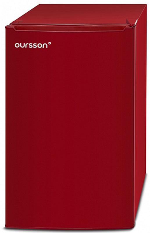 Oursson RF1005/RD холодильник холодильник однодверный oursson rf 1005 rd