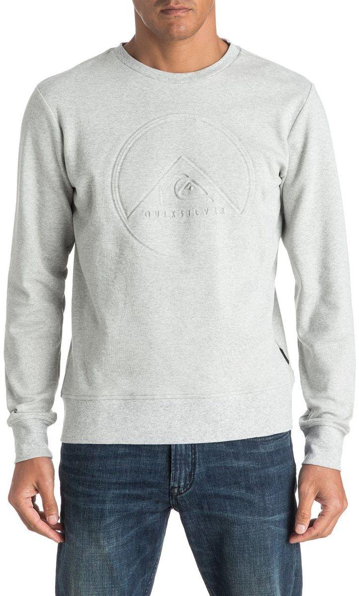 Джемпер мужской Quiksilver, цвет: серый. EQYFT03549-LGH. Размер XL (52/54)