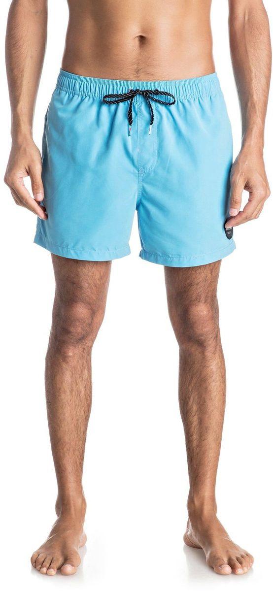 Шорты мужские Quiksilver, цвет: голубой. EQYJV03200-BJB0. Размер L (52)
