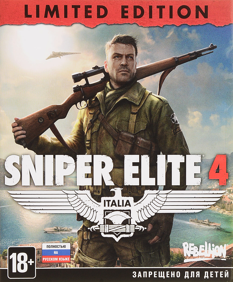 Sniper Elite 4. Limited Edition (Xbox One) видеоигра для xbox one overwatch origins edition