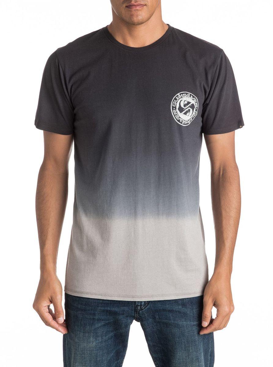 Футболка мужская Quiksilver, цвет: черный. EQYZT04279-KVJ0. Размер M (48/50)EQYZT04279-KVJ0Мужская футболка Quiksilver изготовлена из качественного материала. Модель выполнена с круглой горловиной и короткими рукавами.