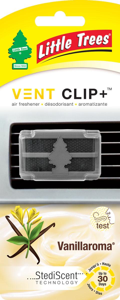 Ароматизатор для дефлектора Little Trees Аромат ванили. Клип +CTK-52432-24Освежитель воздуха Little Trees уникален по эффективности действия, насыщенности и стойкости запаха. Подходит для использования в салоне автомобиля, а также в помещениях.