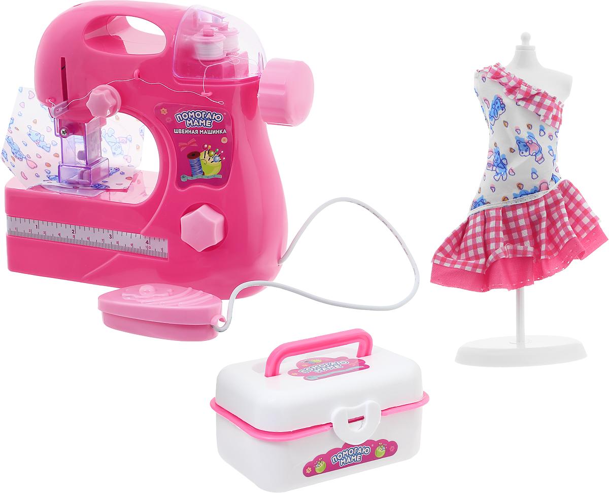 ABtoys Игровой набор Помогаю маме Швейная машинка регелин купить в спб швейная фурнитура