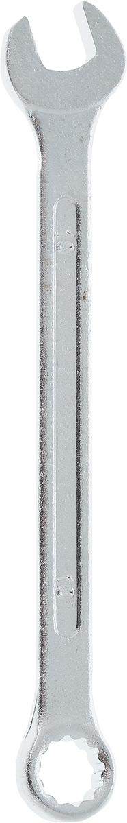 Ключ гаечный комбинированный Helfer, 10 ммHF002004Комбинированный ключ Helfer предназначен для работыс резьбовыми соединениями. Разрезные головки ключейобеспечивают надежный обхват детали и большойкрутящий момент. Размеры зева (отверстия) отвечаютвсем стандартам. Ключ выполнен из углеродистой стали,которая отличается повышенной прочностью. Такой инструмент станет отличным помощникоммонтажнику или владельцу авто.Длина ключа: 14 см. Диаметр головки: 10 мм.