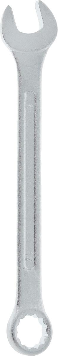 Ключ гаечный комбинированный Helfer, 16 ммHF002010Комбинированный ключ Helfer предназначен для работыс резьбовыми соединениями. Разрезные головки ключейобеспечивают надежный обхват детали и большойкрутящий момент. Размеры зева (отверстия) отвечаютвсем стандартам. Ключ выполнен из углеродистой стали,которая отличается повышенной прочностью. Такой инструмент станет отличным помощникоммонтажнику или владельцу авто.Длина ключа: 20 см. Диаметр головки: 16 мм.