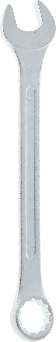 Ключ гаечный комбинированный Helfer, 21 ммHF002015Комбинированный ключ Helfer предназначен для работыс резьбовыми соединениями. Разрезные головки ключейобеспечивают надежный обхват детали и большойкрутящий момент. Размеры зева (отверстия) отвечаютвсем стандартам. Ключ выполнен из углеродистой стали,которая отличается повышенной прочностью. Такой инструмент станет отличным помощникоммонтажнику или владельцу авто.Длина ключа: 25 см. Диаметр головки: 21 мм.