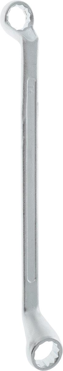 Ключ гаечный накидной Helfer, 14 х 15 ммHF002104Накидной гаечный ключ Helfer станет отличным помощником монтажнику или владельцу авто. Этот инструмент обеспечит надежную фиксацию на гранях крепежа. Благодаря изогнутым головкам вы обеспечите себе удобный доступ к элементам крепежа и безопасность. Длина ключа: 23 см.