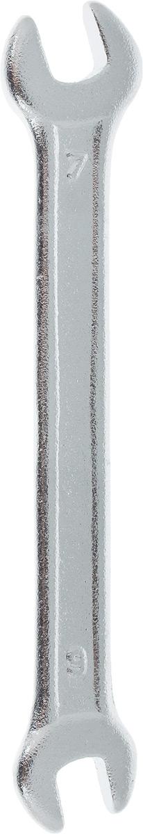 Ключ рожковый Helfer, 6 х 7 ммHF002107Рожковый ключ Helfer станет отличнымпомощником монтажнику или владельцу авто. Этотинструмент обеспечит надежную фиксацию на граняхкрепежа. Специальная углеродистая сталь повышаетпрочность и износ инструмента. Длина ключа: 9,5 см. Размеры ключа: 6 мм; 7 мм.