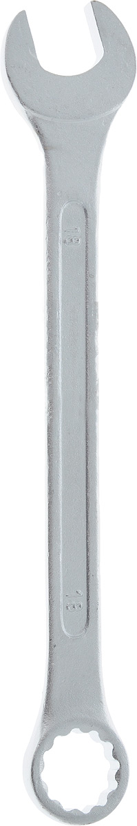 Ключ гаечный комбинированный Helfer, 18 ммHF002012Комбинированный ключ Helfer предназначен для работыс резьбовыми соединениями. Разрезные головки ключейобеспечивают надежный обхват детали и большойкрутящий момент. Размеры зева (отверстия) отвечаютвсем стандартам. Ключ выполнен из углеродистой стали,которая отличается повышенной прочностью. Такой инструмент станет отличным помощникоммонтажнику или владельцу авто.Длина ключа: 22 см. Диаметр головки: 18 мм.