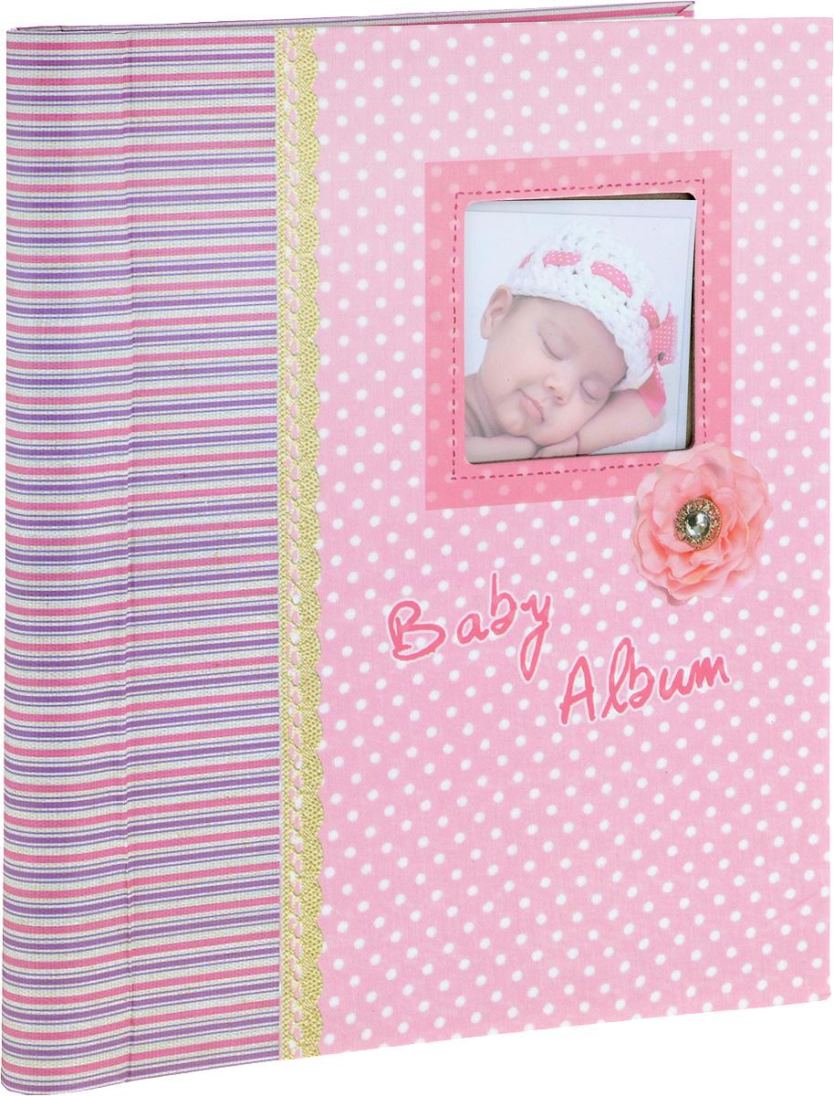 Фотоальбом Platinum Малыши - 3, 20 листов, цвет: розовый. 9821/F eset nod32 антивирус platinum edition 3пк 2года