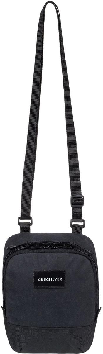 цена Сумка на плечо мужская Quiksilver Black Dies, цвет: черный. EQYBA03068-KVAW онлайн в 2017 году