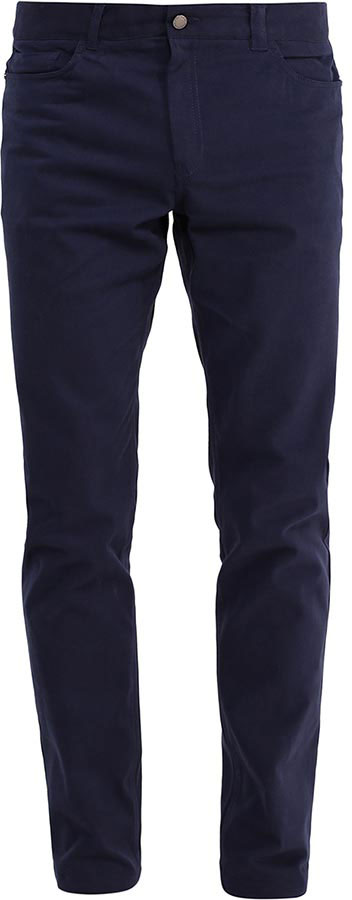 Брюки мужские Finn Flare, цвет: темно-синий. B17-21031_101. Размер XXXL (56) рубашка мужская finn flare цвет темно синий s17 24016 101 размер xxxl 56