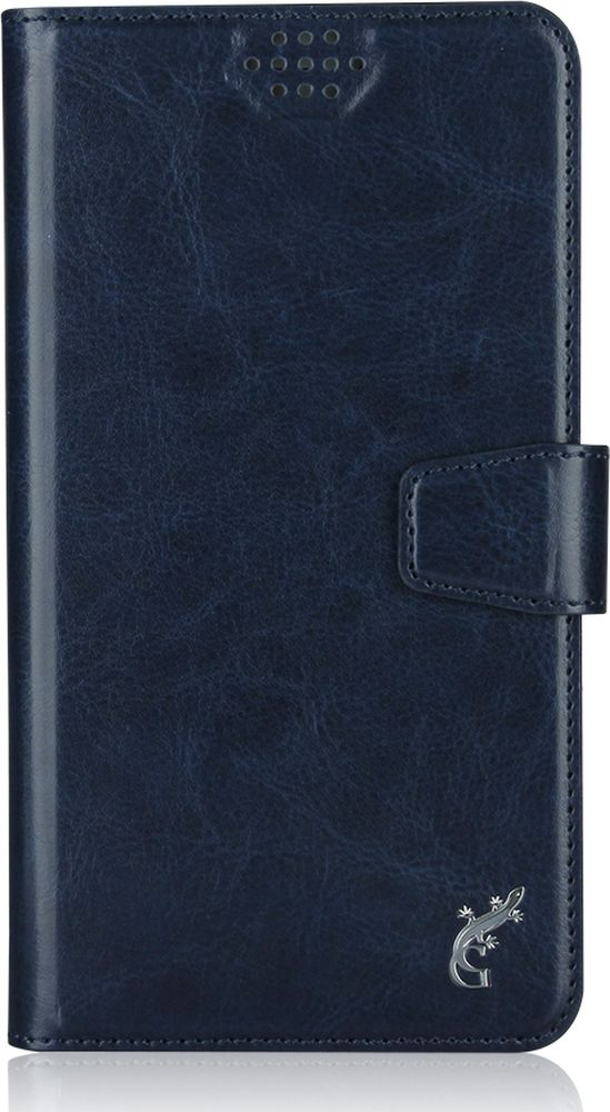 G-Case Slim Premium универсальный чехол для смартфонов 5-5,5, Dark Blue g case slim premium чехол для iphone 6 plus dark blue