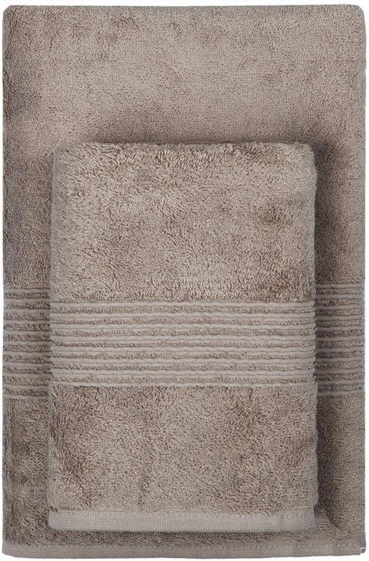 Полотенце махровое TAC Maison Bambu, цвет: коричневый, 70 x 140 см2999l-89658Полотенца ТАС приятно удивляют и дают возможность почувствовать себя творцом окружающего декора. Махровая ткань – официальное название фроте, народное – махра. Фроте – это натуральная ткань, поверхность которой состоит из ворса (петель основных нитей). Ворс может быть как одинарным (односторонним), так и двойным (двусторонним).Размер полотенца: 70 x 140 см.