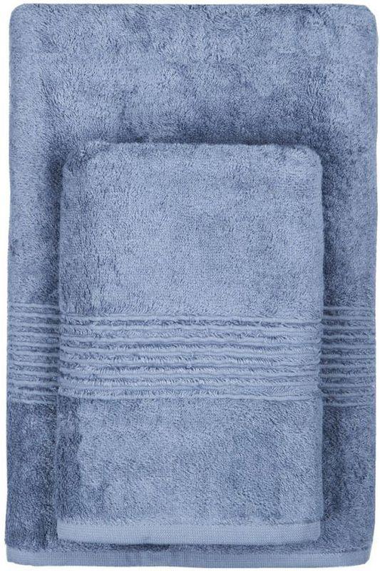 Полотенце махровое TAC Maison Bambu, цвет: синий, 50 x 90 см2999m-89649Полотенца ТАС приятно удивляют и дают возможность почувствовать себя творцом окружающего декора. Махровая ткань – официальное название фроте, народное – махра. Фроте – это натуральная ткань, поверхность которой состоит из ворса (петель основных нитей). Ворс может быть как одинарным (односторонним), так и двойным (двусторонним).