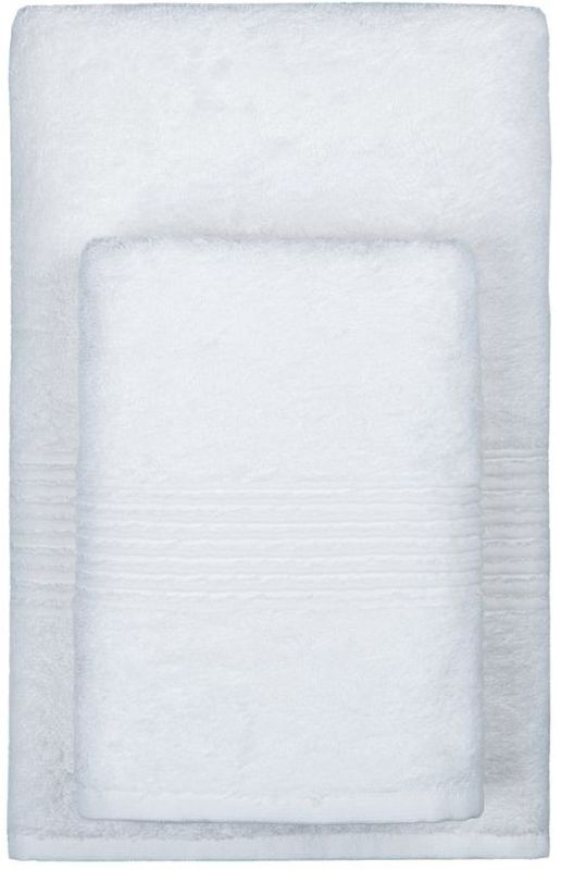 """Полотенце махровое TAC """"Maison Bambu"""", цвет: белый, 50 x 90 см"""