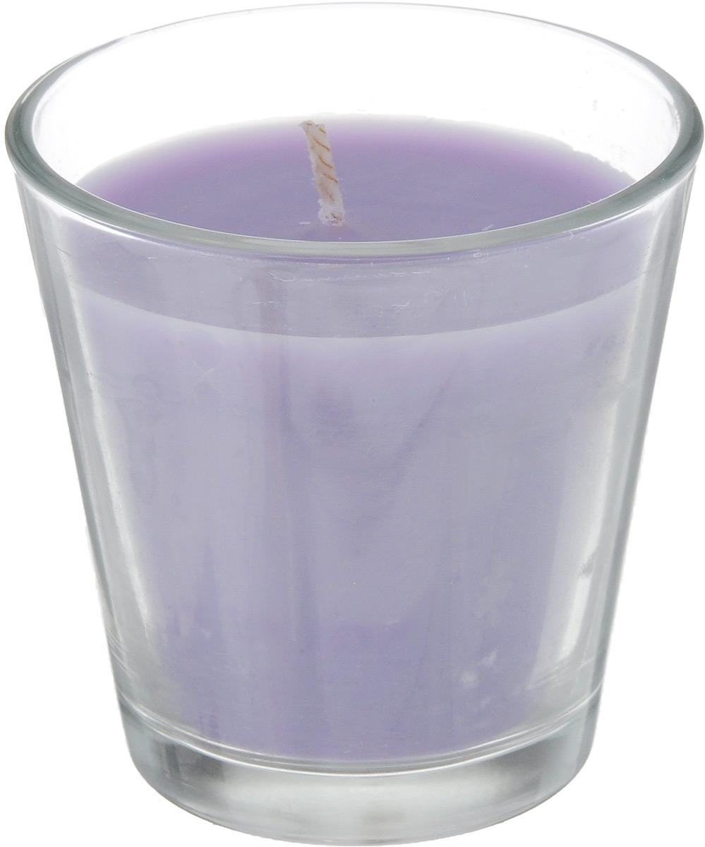 Свеча ароматическая Омский cвечной завод Лаванда, высота 6,5 см свеча столб ароматическая spaas лаванда 15 8 см