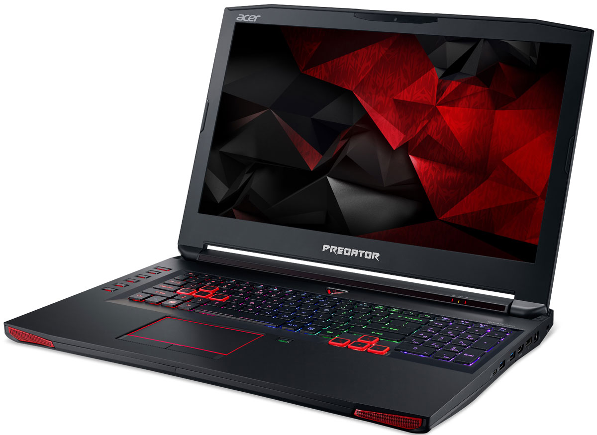 Acer New Predator G9-793-528A, Black - Ноутбуки