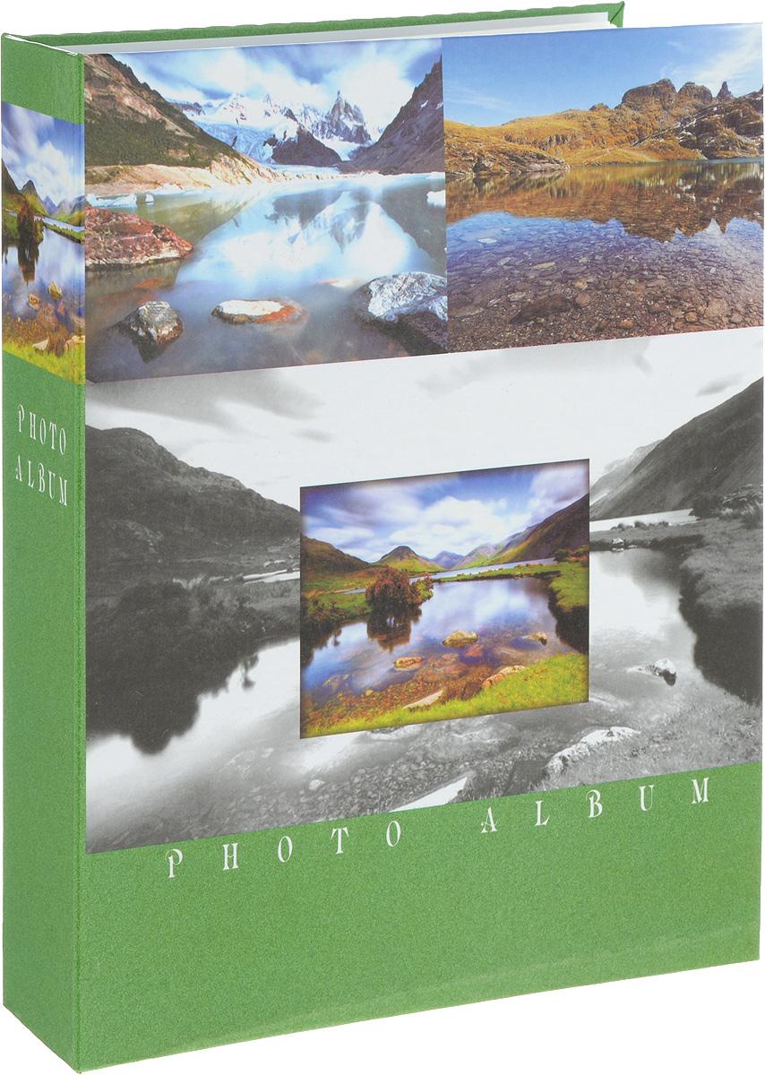 Фотоальбом Platinum Ландшафт - 2, 200 фотографий, цвет: зеленый, серый, коричневый, 10 х 15 см22226-2_зелёный, PP46200SФотоальбом Platinum Ландшафт - 2 поможет красиво оформить ваши фотографии. Обложка выполнена из толстого картона и декорирована рисунком с красочным изображением. Внутри содержится блок из 50 листов с фиксаторами-окошками из полипропилена. Альбом рассчитан на 200 фотографий формата 10 х 15 см (по 2 фотографии на странице). Переплет - книжный. Нам всегда так приятно вспоминать о самых счастливых моментах жизни, запечатленных на фотографиях. Поэтому фотоальбом является универсальным подарком к любому празднику.Количество листов: 50.