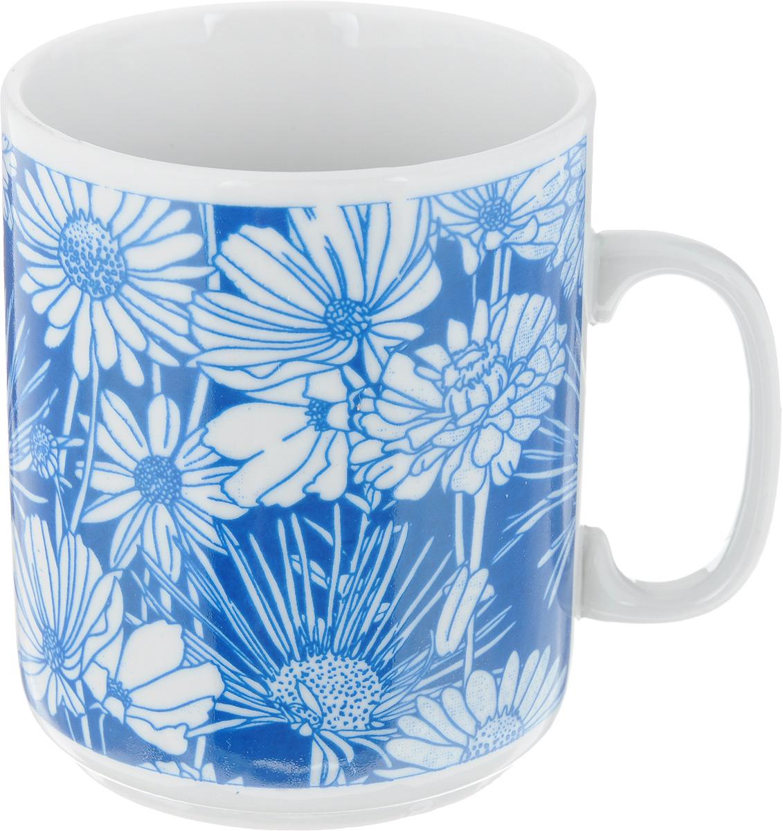 Кружка Фарфор Вербилок Цветочная поляна, цвет: темно-синий, 300 мл9273960_темно-синийКружка Фарфор Вербилок Цветочная поляна способна скрасить любое чаепитие. Изделие выполнено из высококачественного фарфора. Посуда из такого материала позволяет сохранить истинный вкус напитка, а также помогает ему дольше оставаться теплым.Диаметр кружки (по верхнему краю): 8 см.Высота кружки: 9,5 см.
