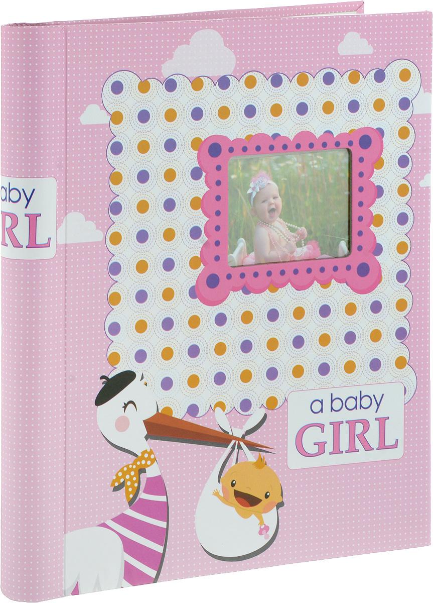 Фотоальбом Platinum Малыши - 2, 30 листов, цвет: розовый. 9820-30/F3М1614_розовый, 9820-30/FФотоальбом Platinum Малыши - 2, изготовленный из ламинированного картона с клеевым покрытием и пленки, поможет сохранить вам самые важные и счастливые события жизни вашего ребенка. Этот альбом станет драгоценной памятью для вас, вашего ребенка и, возможно, ваших внуков.Обложка выполнена из толстого картона и оформлена оригинальным рисунком. Лицевая сторона обложки имеет окошечко для фотографии. Внутри содержится 30 магнитных листов, которые крепятся с помощью спирали. Нам всегда так приятно вспоминать о самых счастливых моментах жизни, запечатленных на фотографиях. Размер листа: 22,5 х 28 см.