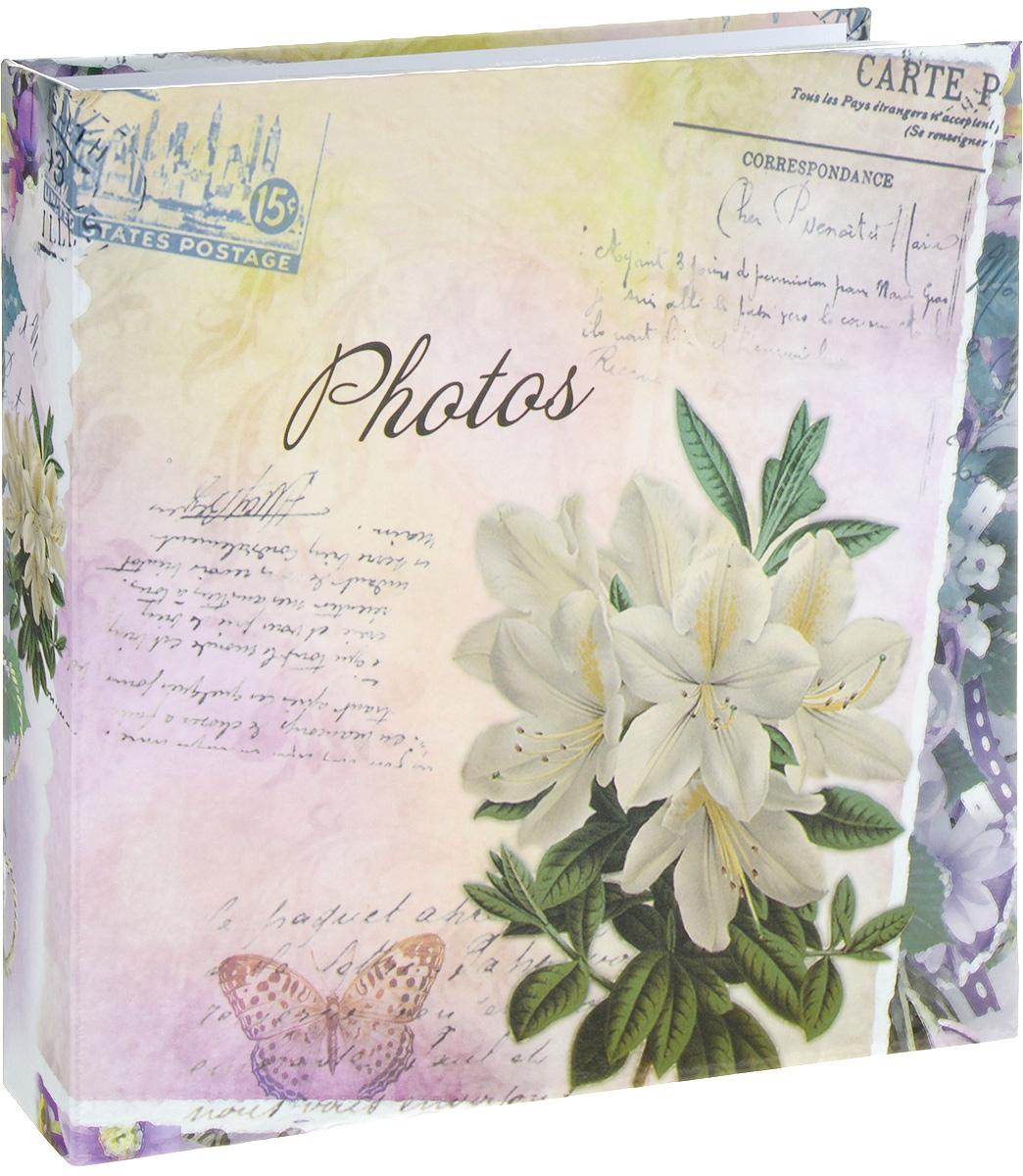 Фотоальбом Platinum Цветочная коллекция - 6, 200 фотографий, цвет: розовый, белый, зеленый, 10 х 15 см22317_белая альстромерия, С-46200LФотоальбом Platinum Цветочная коллекция - 6 поможет красиво оформить ваши фотографии. Обложка выполнена из толстого картона и декорирована красочным рисунком. Внутри содержится блок из 50 листов с фиксаторами-окошками из полипропилена. Альбом рассчитан на 200 фотографий формата 10 х 15 см (по 2 фотографии на странице). Переплет - книжный. Нам всегда так приятно вспоминать о самых счастливых моментах жизни, запечатленных на фотографиях. Поэтому фотоальбом является универсальным подарком к любому празднику.Количество листов: 50.
