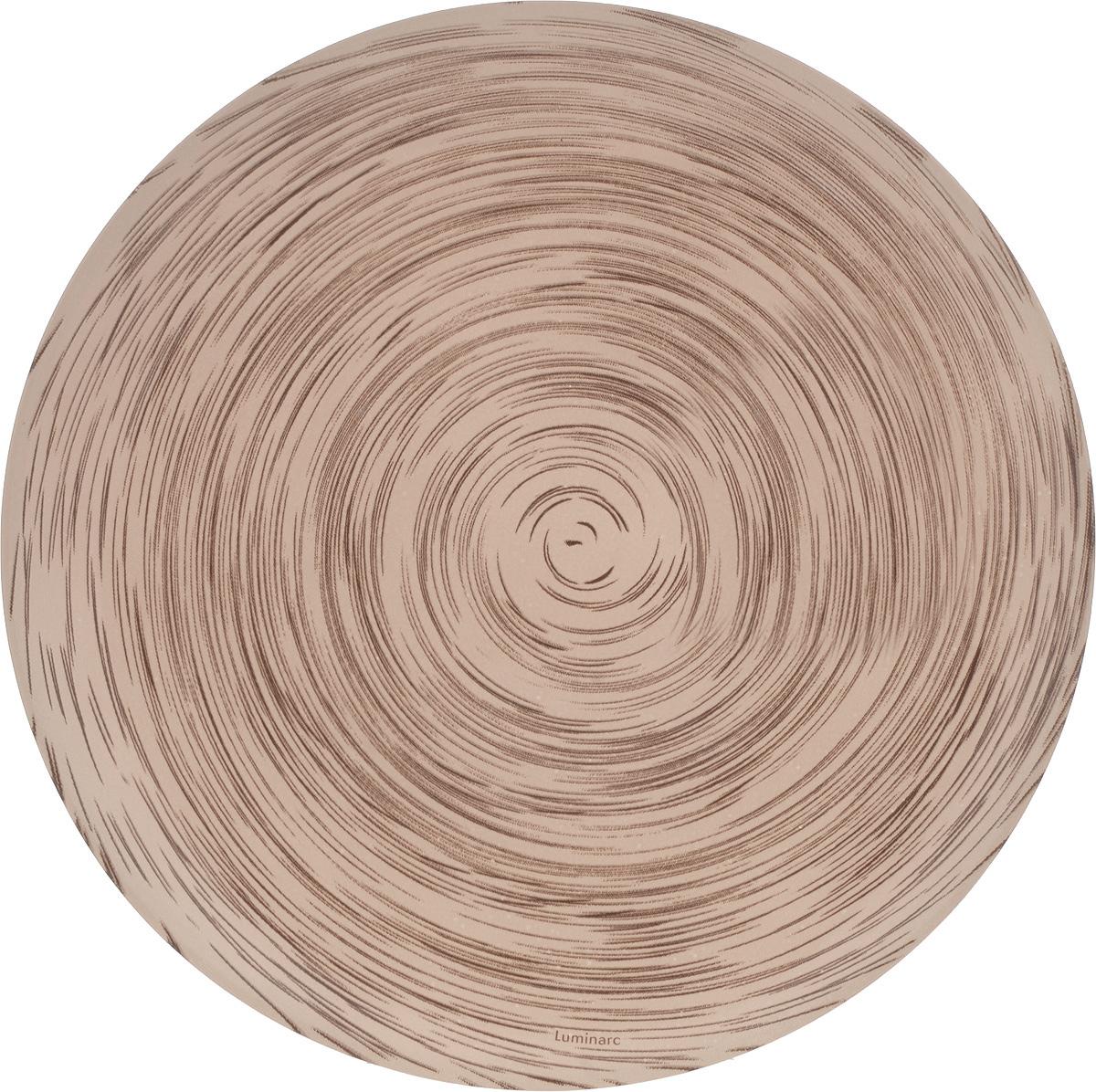 Тарелка десертная Luminarc Stonemania Cappuccino, диаметр 20 смJ2131Десертная тарелка Luminarc Stonemania Cappuccino, изготовленная из высококачественного стекла, имеет изысканный внешний вид. Такая тарелка прекрасно подходит как для торжественных случаев, так и для повседневного использования. Идеальна для подачи десертов, пирожных, тортов и многого другого. Она прекрасно оформит стол и станет отличным дополнением к вашей коллекции кухонной посуды.Диаметр тарелки: 20 см.Высота тарелки: 1,5 см.