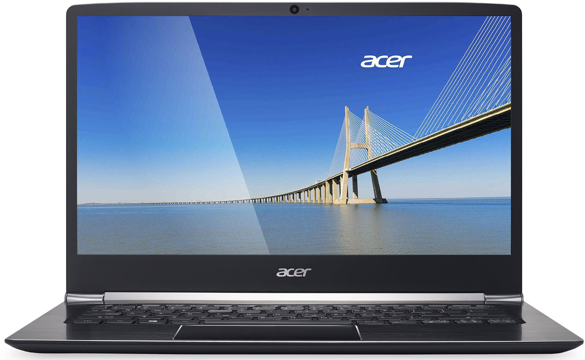 Acer Swift 5 SF514-51-73HS, Black - Ноутбуки