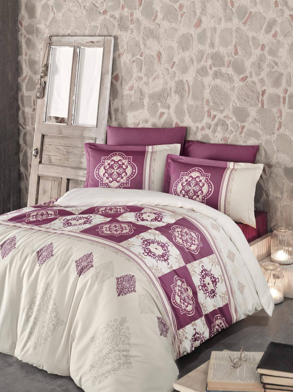 Комплект белья Clasy Mandela, евро, наволочки 50х70, цвет: бордовый00000005283Комплект постельного белья Clasy Mandela изготовлен в Турции из высококачественного сатина на одной из ведущих фабрик.Выбирая постельное белье Clasy Mandela вы будете приятно удивлены качественной выделкой ткани, красивыми и модными расцветками, а так же его отличным качеством. Все наволочки у комплектов Clasy Mandela имеют клапан без пуговиц и молнии. Пододеяльник с пуговицами.