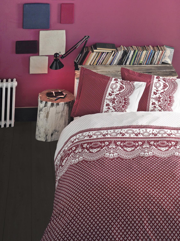 Комплект белья Clasy Canzone, семейный, наволочки 50х70, цвет: красный02030816270Комплект постельного белья Clasy Canzone изготовлен в Турции из высококачественного ранфорса на одной из ведущих фабрик. Выбирая постельное белье Clasy Canzone вы будете приятно удивлены качественной выделкой ткани, красивыми и модными расцветками, а так же его отличным качеством. Все наволочки у комплектов Clasy Canzone имеют клапан без пуговиц и молнии. Все пододеяльники с пуговицами.