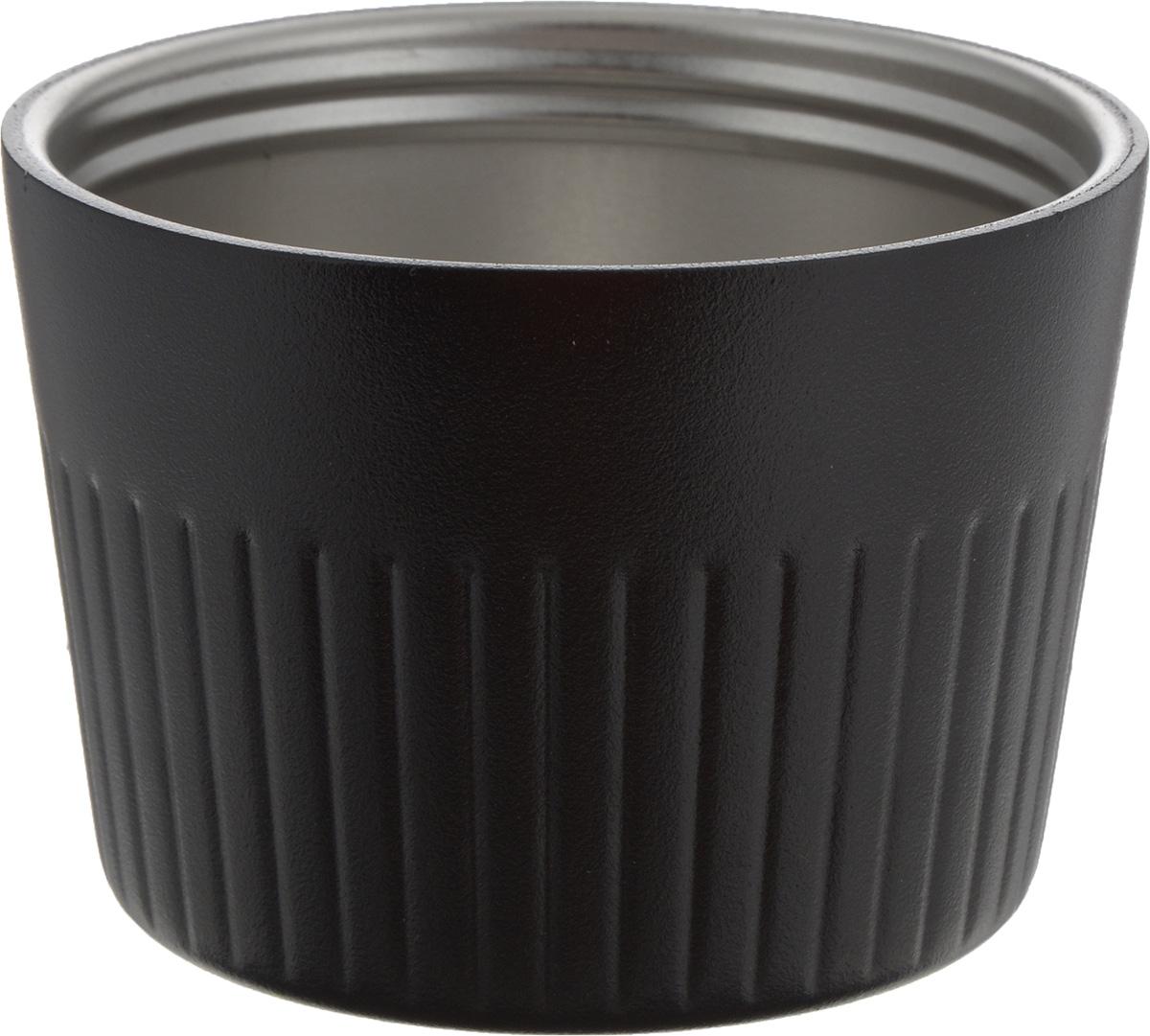 Термокружка Primus Trailbreak Cup, цвет: черный, 250 мл737941Крышка-чашка Primus Trailbreak Cup изготовлена из пластика и стали. Такая кружка станет незаменима в походах и на пикнике. Ее можно использовать как крышку для термоса. Пластиковое покрытие убережет ваши руки от ожогов, если в кружку налит горячий чай.Объем кружки: 250 мл.Размеры: 8,5 х 8,5 х 6 см.