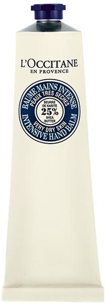LOccitane Питательный бальзам для рук Карите 150 мл453735Бальзам для рук высокой концентрацией масла карите (25%) обеспечивает интенсивное увлажнение и питание, образуя защитную пленку на коже. Обогащенный аллантоином, он моментально успокаивает кожу, оставляя нежный аромат и даря ей комфорт и мягкость на весь день.