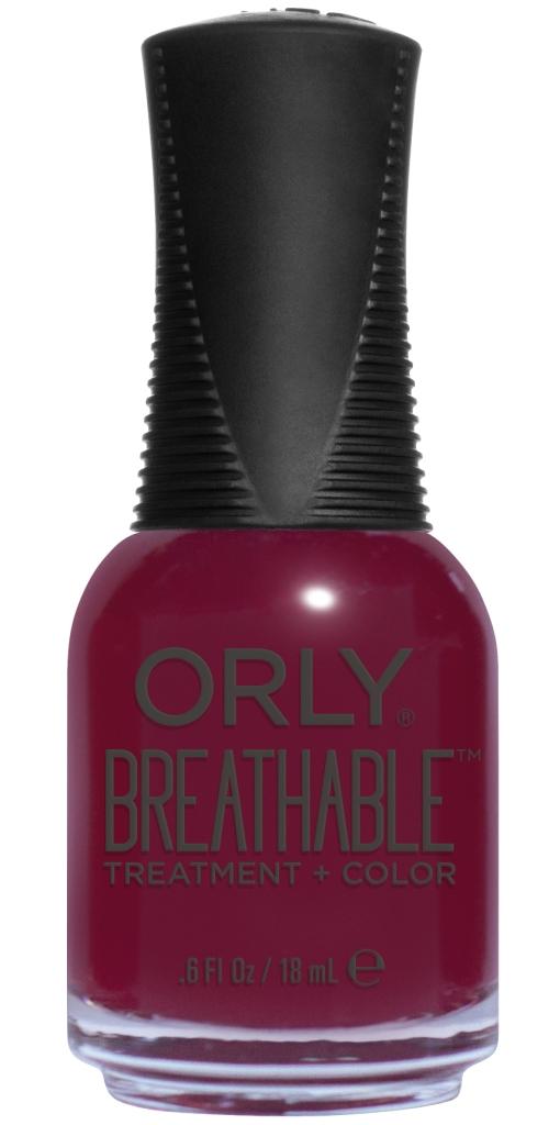 Orly Профессиональный дышащий уход (цвет) за ногтями 903 THE ANTIDOTE 18 мл20903Бренд ORLY разработал первый профессиональный цветной дышащий уход за ногтями BREATHABLE. Инновационная дышащая технология BREATHABLE создаёт на ногте проницаемую пленку, позволяющую кислороду, влаге и активным ингредиентам препарата достигать поверхности ногтя. BREATHABLE от ORLY — уход и цвет в одном флаконе! Преимущества BREATHABLE от ORLY:1. Способствует росту и укреплению ногтей благодаря дышащей технологии и формуле с аргановым маслом, витамином С и провитамином В5.2. Формула «Все в одном» позволяет наносить BREATHABLE без использования базового и верхнего покрытий.3. Запатентованная плоская кисть для удобного нанесения. ·4. Стойкость. Палитра BREATHABLE от ORLY — это роскошные оттенки и прозрачный блеск-уход для ультраглянца. Стильный маникюр и профессиональный уход – это новинка BREATHABLE от ORLY!Как ухаживать за ногтями: советы эксперта. Статья OZON Гид