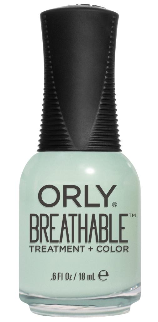 Orly Профессиональный дышащий уход (цвет) за ногтями 917 FRESH START 18 мл20917Бренд ORLY разработал первый профессиональный цветной дышащий уход за ногтями BREATHABLE. Инновационная дышащая технология BREATHABLE создаёт на ногте проницаемую пленку, позволяющую кислороду, влаге и активным ингредиентам препарата достигать поверхности ногтя. BREATHABLE от ORLY — уход и цвет в одном флаконе! Преимущества BREATHABLE от ORLY:1. Способствует росту и укреплению ногтей благодаря дышащей технологии и формуле с аргановым маслом, витамином С и провитамином В5.2. Формула «Все в одном» позволяет наносить BREATHABLE без использования базового и верхнего покрытий.3. Запатентованная плоская кисть для удобного нанесения. ·4. Стойкость. Палитра BREATHABLE от ORLY — это роскошные оттенки и прозрачный блеск-уход для ультраглянца. Стильный маникюр и профессиональный уход – это новинка BREATHABLE от ORLY!Как ухаживать за ногтями: советы эксперта. Статья OZON Гид